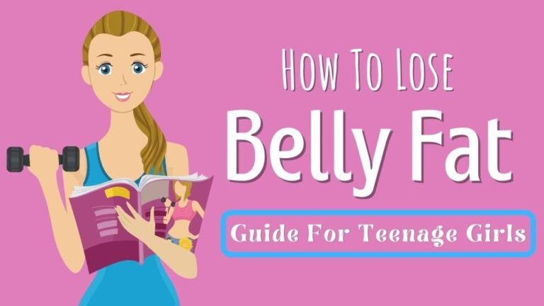 How To Lose Belly Fat For Teenage Girls (4 Actionable Ways)